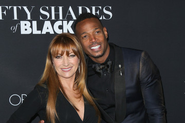 Jane Seymour Celebrities Attend the 'Fifty Shades of Black Premiere'