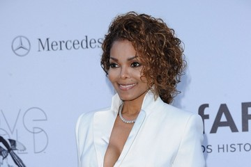 Janet Jackson Arrivals at amFAR's Cinema Against AIDS Gala