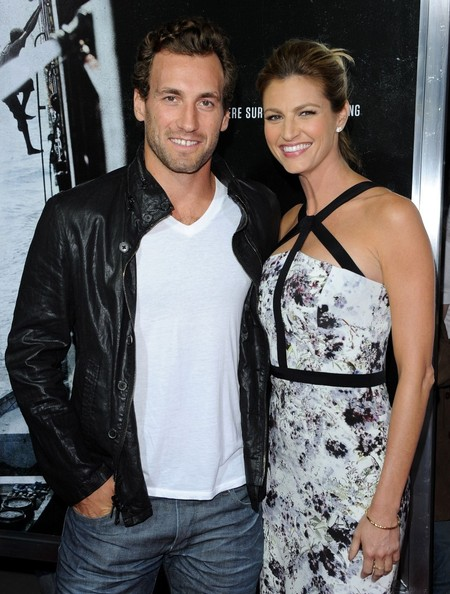 Erin Andrews with cool, Husband Jarret Stoll