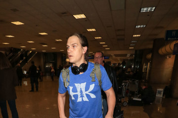 Jason Mewes Celebrities Arrive for the Sundance Film Festival at Salt Lake City Airport