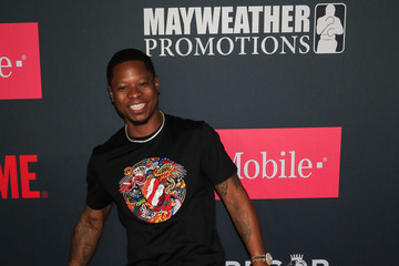Jason Mitchell VIP Pre-Fight Party Arrivals on the T-Mobile Magenta Carpet for Mayweather VS McGregor