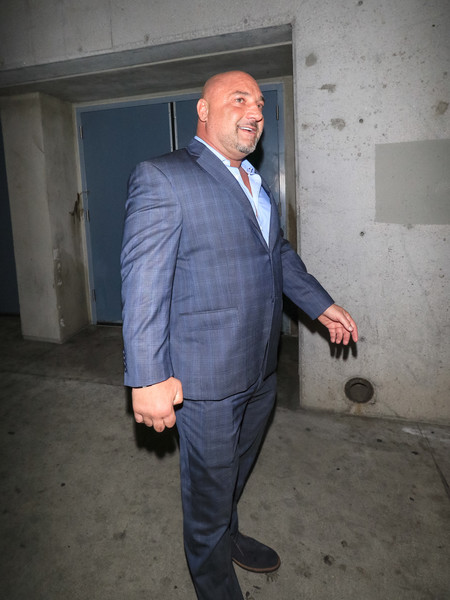 Jay Glazer Outside Andre The Giant Premiere After Party At Lure Nightclub
