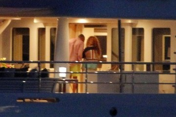 Jay-Z Beyonce Knowles Beyonce and Jay-Z Frolic on a Yacht
