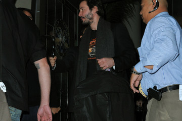 Keanu Reeves Jennifer Connelly and Keanu Reeves at a Santa Monica Hotel