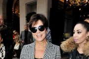1e75f1c1c50 Kris Jenner in Houndstooth Thumbnails - Pictures - Zimbio