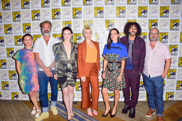 Jennifer Connelly Daveed Diggs 2019 Comic-Con International - 'Snowpiercer' Photo Call