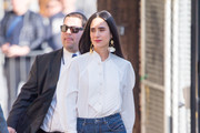 Jennifer Connelly is seen at 'Jimmy Kimmel Live' in Los Angeles, California.
