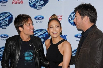 Jennifer Lopez 'American Idol' XIII Finalists Party