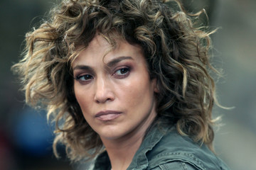 Jennifer Lopez Jennifer Lopez and Ray Liotta Film 'Shades of Blue' in New York