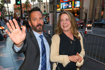 Jenny Robertson Thomas Lennon and Jenny Robertson Spotted Outside TCL Chinese Theatre