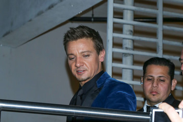 Jeremy Renner Celebrities Are Seen Outside 'The Founder' Premiere at ArcLight Theatre