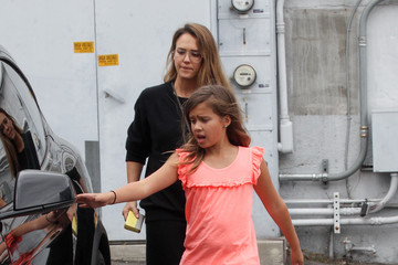 Jessica Alba Jessica Alba and Honor Spotted in Los Angeles
