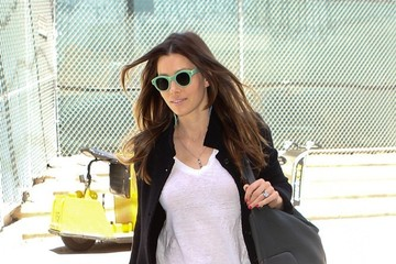 Jessica Biel Jessica Biel Arrives at LAX