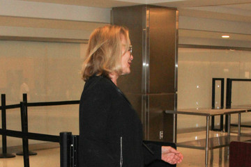 Jessica Lange Jessica Lange Is Seen at LAX