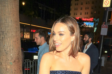 Jessica McNamee Jessica McNamee Is Seen Outside 'The Meg' Premiere At TCL Chinese Theatre