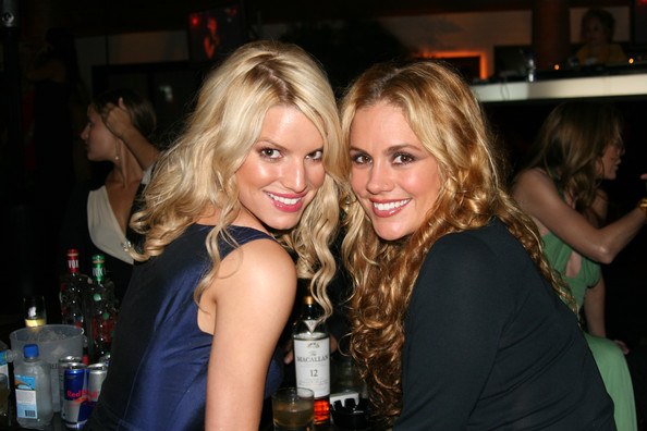 Photo of Jessica Simpson & her friend tv-personality  Cacee Cobb - Longtime