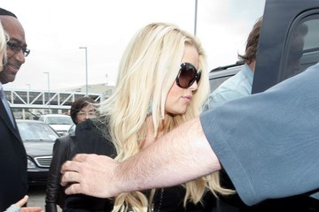 Jessica Simpson Jessica Simpson at LAX