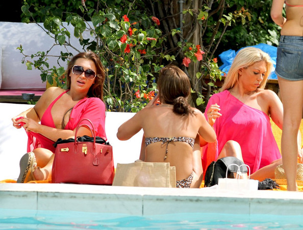 'The Only Way is Essex' Cast by the Pool