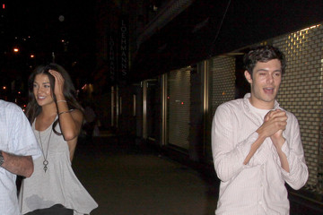 Adam Brody Jessica Szohr and Adam Brody in Manhattan