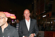 Jim Courtney Is Seen At The 'Halloween' Premiere At TLC Chinese Theatre In Hollywood