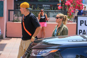 Jim Toth and Reese Witherspoon are seen out in Los Angeles, California on August 5, 2018.