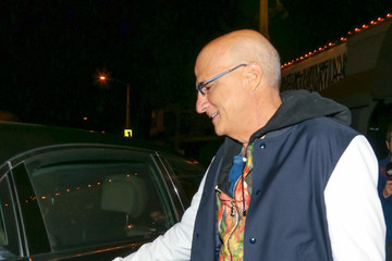 Jimmy Iovine Jimmy Iovine outside Craig's Restaurant in West Hollywood
