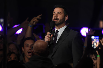 Jimmy Kimmel Celebs at 'Jimmy Kimmel Live'