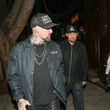Joel Madden Benji Madden Is Seen Outside Peppermint Nightclub In West Hollywood
