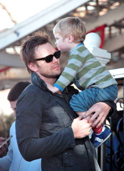 Photo of Joel McHale & his  Son  Isaac