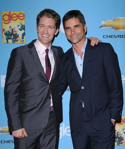 Matthew Morrison and John Stamos - 2nd Season Premiere of