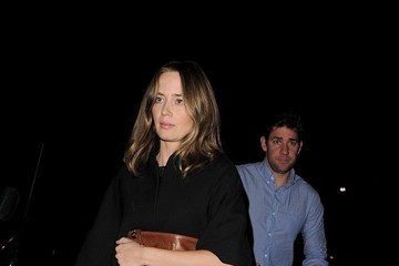 John Krasinski Emily Blunt and John Krasinski at Chiltern Firehouse