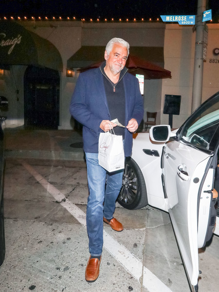 John O'Hurley Outside Craig's Restaurant In West Hollywood