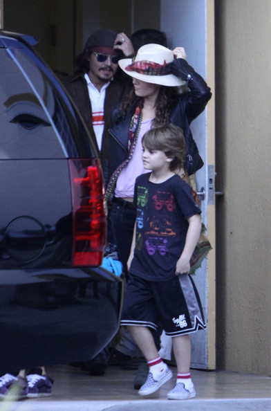 johnny depp and family. The Depp Family in Miami