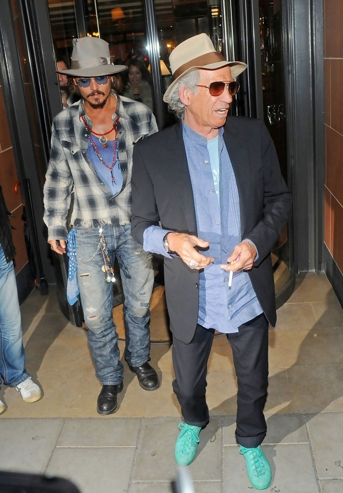 Johnny Depp London Restaurant