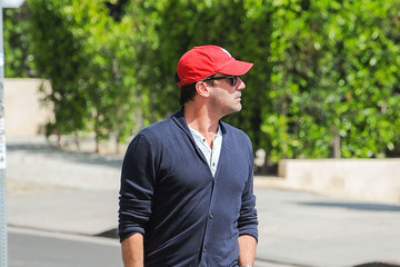Jon Hamm Jon Hamm Shows His Cardinals Pride