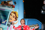 Jonathan Cheban outside Craig's Restaurant in West Hollywood