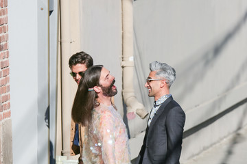 Jonathan Van Ness Tan France And The Rest Of The Fab Five Visit 'Jimmy Kimmel Live'