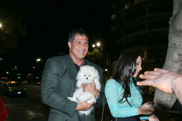 Jose Canseco Celebrity Sightings at Avalon Nightclub