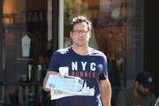 Josh Hopkins Grabs Some Starbucks