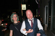 Joss Whedon Is Seen Outside of Neuhouse in Hollywood