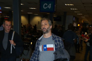 Judd Apatow Celebrities at the Salt Lake City Airport