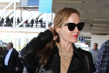 Judd Apatow Leslie Mann and Judd Apatow Are Seen at LAX