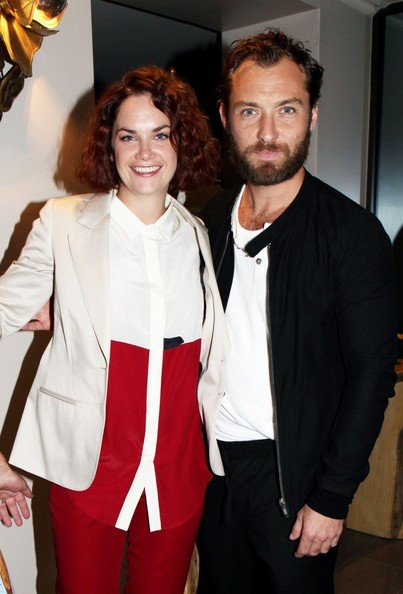 Jude Law After party for 'Anna Christie' in Covent Garden.