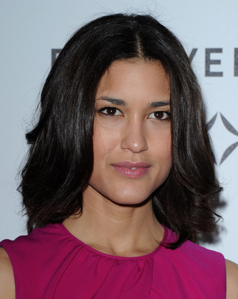 Julia Jones At Burberry Body Launch In Beverly Hills: Forevermark & InStyle Golden