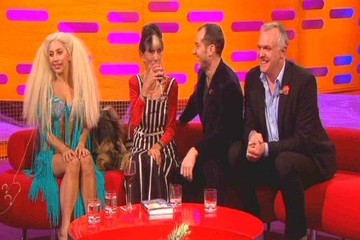 June Brown Lady Gaga on 'The Graham Norton Show'