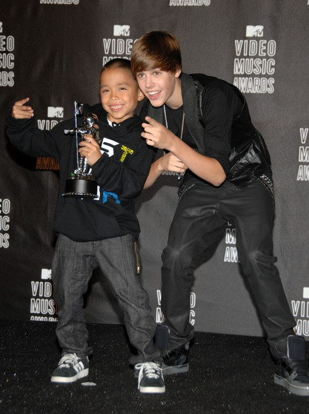 Justin Bieber 2010 MTV Video Music Awards - Press Room.
