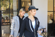 Justin Bieber And Hailey Baldwin In Los Angeles