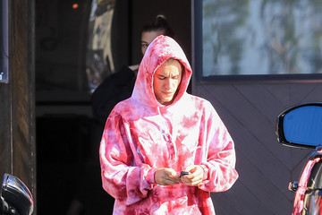 Justin Bieber Hailey Bieber Justin Bieber and Hailey Baldwin out and about