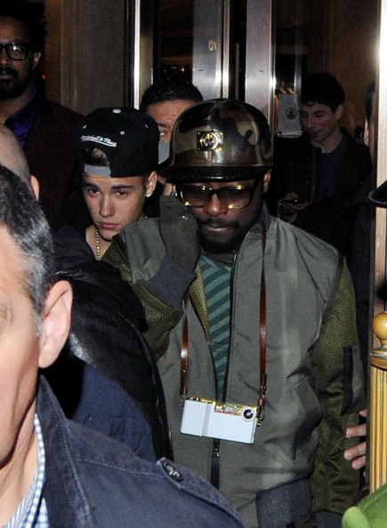 Justin Bieber And Will I Am Justin Bieber and Will i am