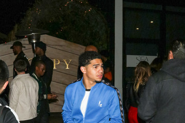 Justin Combs Justin Combs Outside Poppy Nightclub in West Hollywood